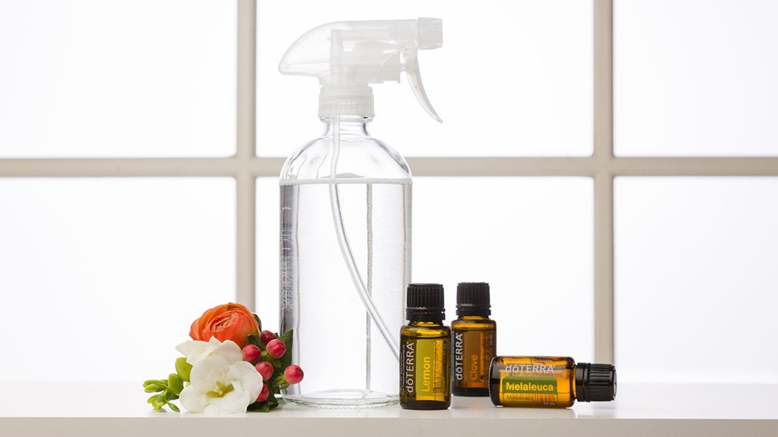 Wellness Ang DIY Cleaning Spray Recipe